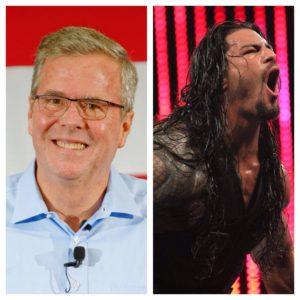 Jeb Bush - Roman Reigns
